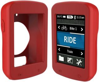 Garmin Edge 820 beskyttelses deksel laget av silikon - Rød