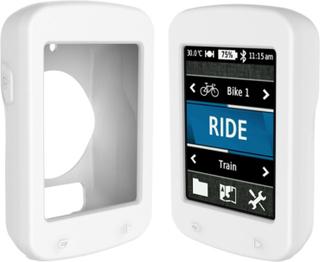 Garmin Edge 820 beskyttelses deksel laget av silikon - Hvit