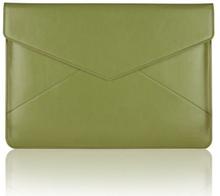 Air Mail (Grønn) 11'' Lær Veske For Tablets