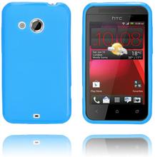 GelCase (Blå) HTC Desire 200 Deksel