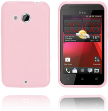 GelCase (Rosa) HTC Desire 200 Deksel