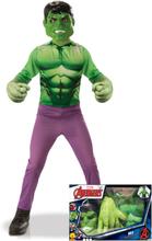 Hulken - Klassisk maskeraddräkt för barn i gåvobox 65e94d760662d