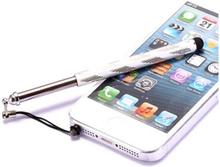 Telescopic Metal Stylus Pen (Sølv)