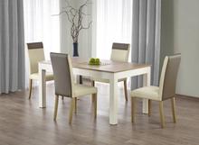 Bråviken matbord 160-300 cm - Vit/ek