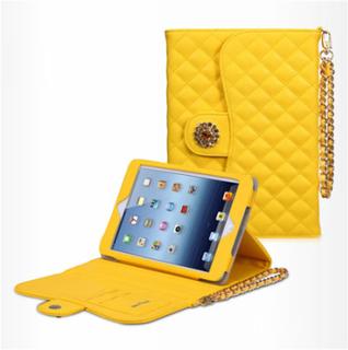 Takefans Rhombus (Gul) iPad Mini Flipp Deksel