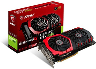 Gaming Grafikkort MSI VGA GeForce GTX 1060 X 3G 3 GB DDR5