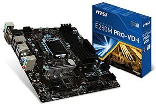 Moderkort MSI B250M PRO-VDH mATX LGA1151