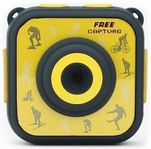 Sportkamera med Tillbehör Denver Electronics ACT-1303 1280 x 720 HD Gul