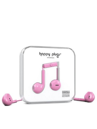 Happy Plugs Earbud Plus Hot Pink
