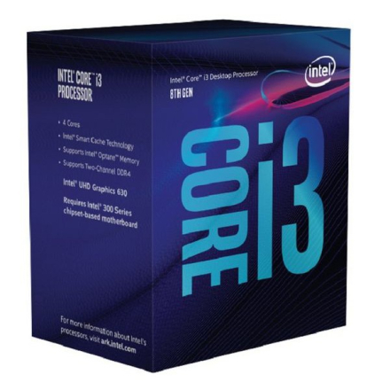 Processor Intel Intel® Core™ i3-8100 Processor BX80684I38100 Intel Core i3 8100 3,6 Ghz 6 MB LGA 1151 BOX