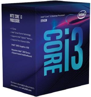 Processor Intel Intel® Core™ i3-8100 Processor BX80684I38100 Intel Core i3 8100 3,6 Ghz 6 MB LGA 1151 BOX