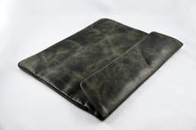 Luxury Bag (Mørk Grå) Tablet Ekte Lær Bag