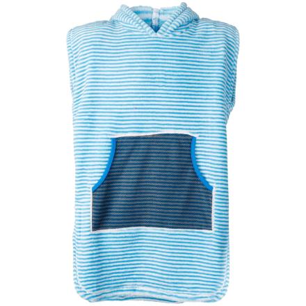 Didriksons Pier Kids Terry Poncho Barn T-shirt Blå 86-92
