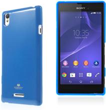 Mercury (Mörkblå) Sony Xperia T3 Skal