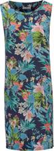 Ärmlös klänning i 100% linne från Peter Hahn mångfärgad