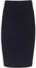 Stickad kjol från DAY.LIKE blå