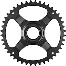 Shimano STEPS E6100 Chainring Cl:46.5mm without chain guard black 38T 2020 Drev till elcykel