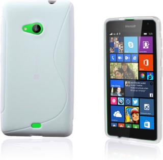 Lagerlöf Microsoft Lumia 535 Deksel - Hvit