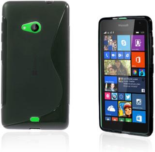 Lagerlöf Microsoft Lumia 535 Deksel - Sort