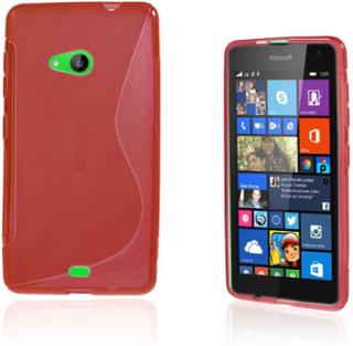 Lagerlöf Microsoft Lumia 535 Deksel - Rød