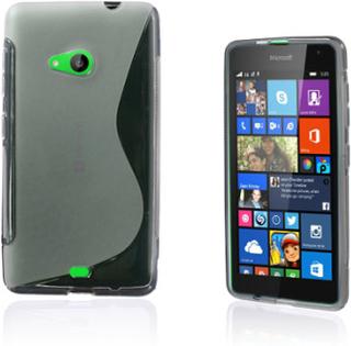 Lagerlöf Microsoft Lumia 535 Deksel - Gjennomsiktig