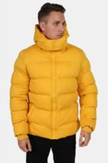 Urban Classics Hooded Boxy Puffer Jakke Chrome Yellow