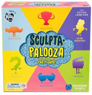 Sculptapalooza - ett spel med playfoam