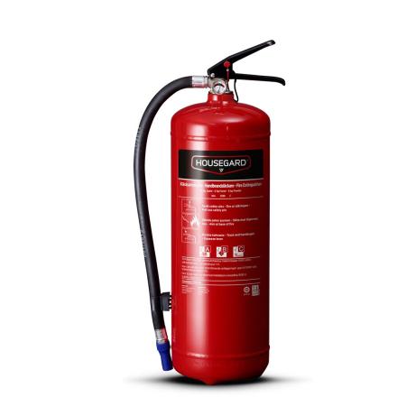 Housegard 6 kg Pulverslukker 55A Rød PE6TEA