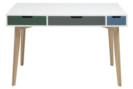 Burnley skrivbord - Flerfärgad