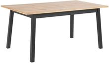 Reno matbord - Ek/svart