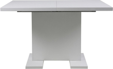 Joliet matbord - Vit högglans