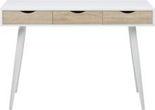 Arvada skrivbord - Vit/ek