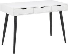 Arvada skrivbord - Vit/svart