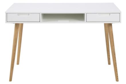 Fontana skrivbord - Vit