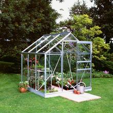 Halls Växthus Popular 3,8 kvm, Obehandlad, Glas
