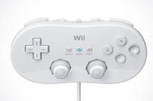 Pad Controller Wii Hvid