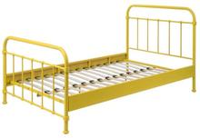Vipack Säng - New York - 120x200 Cm - Gul