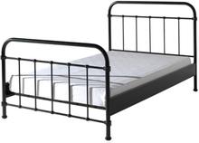 Vipack Säng - New York - 120x200 Cm - Svart