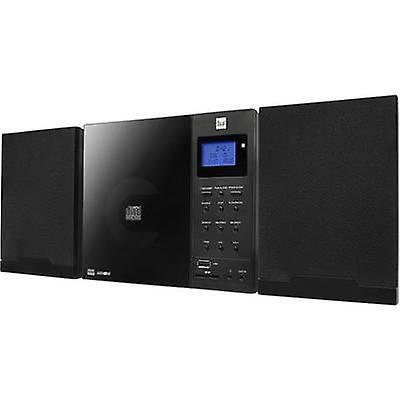Audiosystemet Dual DAB 102 AUX, CD, DAB, SD, FM, USB Wall mount par...
