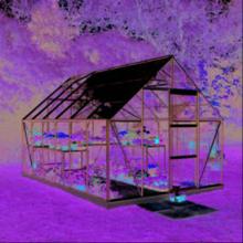 Halls Växthus Universal 9,9 kvm ,Glas