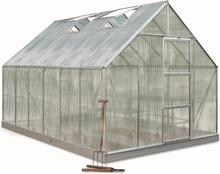 Halls Växthus Universal 9,9 kvm, Polykarbonat