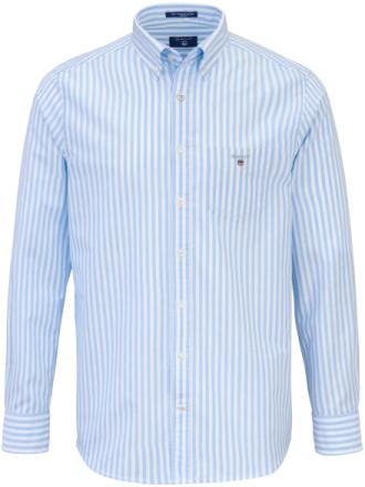 Skjorte button-down-flip Fra GANT blå - Peter Hahn