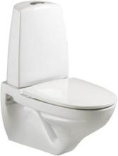 Ifö Vägghängd Toalettstol Sign 6894 ROT Hårdsits med Snabbkoppling eller Fasta beslag Vit