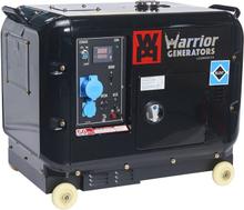 Warrior Dieselelverk 5000W