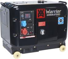 Warrior Dieselelverk 6kvA 3-fas