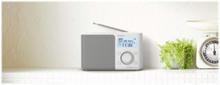 Bærbar DAB-radio XDR-S61D - DAB bærbar radio - Mono - Hvit