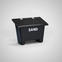 Formenta Monterad Låshasp På Sandbehållare