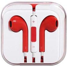 In-ear headset / høretelefoner - iPhone / iPad / iPod - Rød
