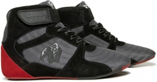 Perry High Tops Pro, grey/black/red, Gorilla Wear