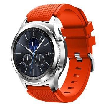 Silicone Sport Samsung Gear S3 Armbånd - Orange